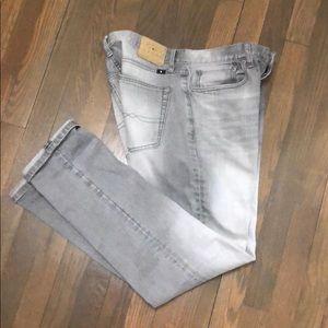 Lucky Brand 121 Heritage slim, light gray jeans
